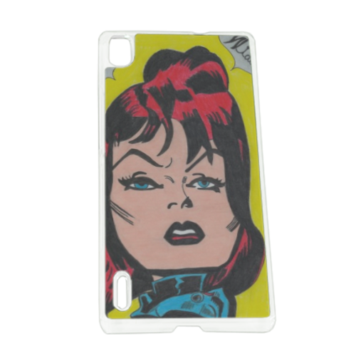 BLACK WIDOW Cover Huawei P7