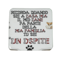 Dog Tablet  Spille personalizzate quadrate