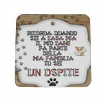 Tablet dog verticale Spille personalizzate quadrate