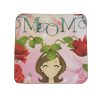 Best Mom Spille personalizzate quadrate