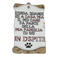 Dog Tablet  Pergamena magnetica