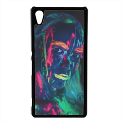 ragazza fluorescente Cover Sony Xperia Z3 Plus