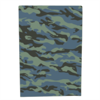 Blue camouflage  Block notes rigido