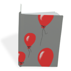 red baloons Taccuino