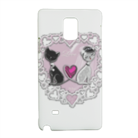 Weddings Cats Cover Samsung Note 4 3D