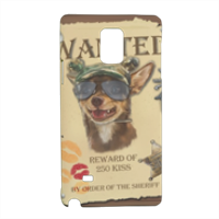 Wanted Rambo Dog Cover Samsung Note 4 3D
