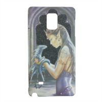Dragon woman Cover Samsung Note 4 3D