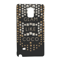 Glam Like Coco Cover Samsung Note 4 3D