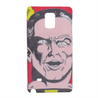 BLACK ADAM Cover Samsung Note 4 3D