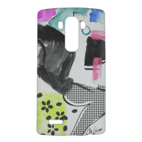 Glamour Cover Lg G4 3D