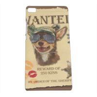 Wanted Rambo Dog Cover Huawei P8 3D