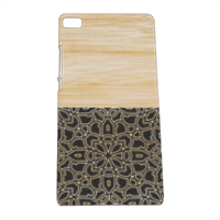 Bamboo Gothic Cover Huawei P8 3D
