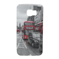 London red and white Cover Samsung S6 Edge 3D