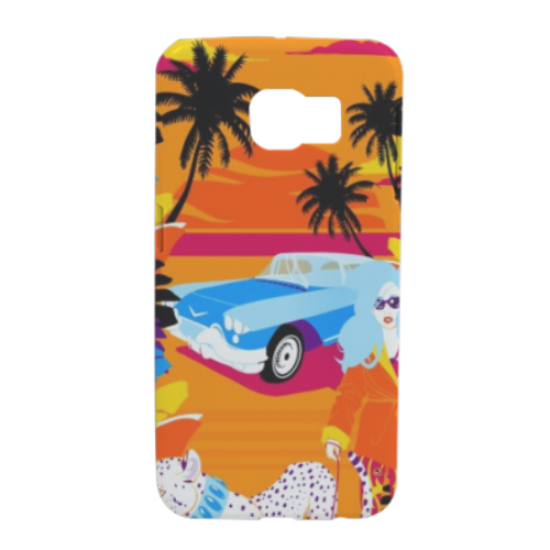 Rich Summer  Cover Samsung S6 Edge 3D