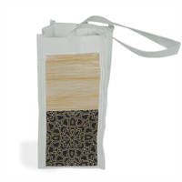 Bamboo Gothic Shopper bag per bottiglie