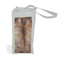 Maine coon cats Shopper bag per bottiglie
