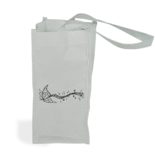 FARMUSICA Shopper bag per bottiglie