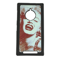 The star's smile Marilyn Cover Nokia 830 personalizzata