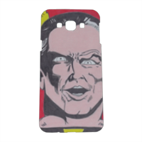 BLACK ADAM Cover Samsung A8 3D