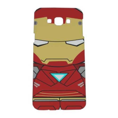 Team Ironman Cover Samsung A8 3D