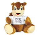 live your dream Peluche scoiattolo personalizzato