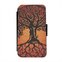 Tree of Life Flip cover laterale iphone 4-4s