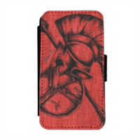 Spartan warrior Flip cover laterale iphone 4-4s