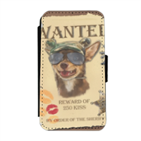 Wanted Rambo Dog Flip cover laterale iphone 4-4s