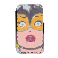 CATWOMAN 2016 Flip cover laterale iphone 4-4s