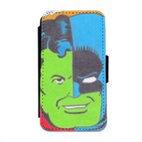THE COMPOSITE SUPERMAN Flip cover laterale iphone 4-4s