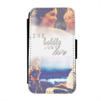 me before you Flip cover laterale iphone 4-4s