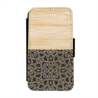 Bamboo Gothic Flip cover laterale iphone 4-4s