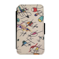 arte contemporanea Flip cover laterale iphone 4-4s
