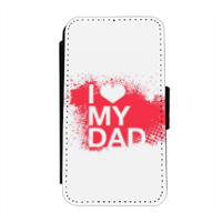 I Love My Dad - Flip cover laterale iphone 4-4s