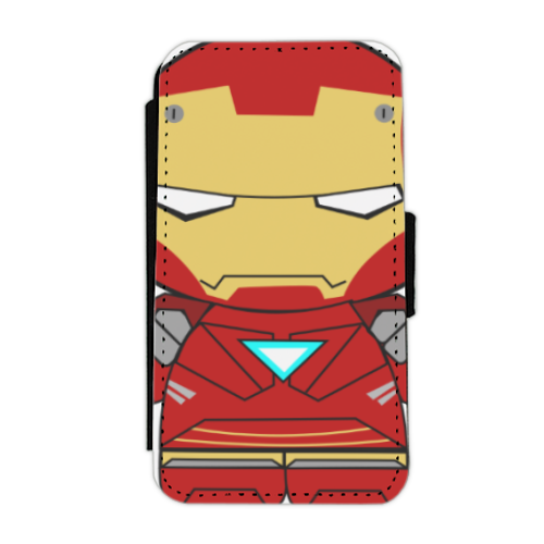 Team Ironman Flip cover laterale iphone 4-4s