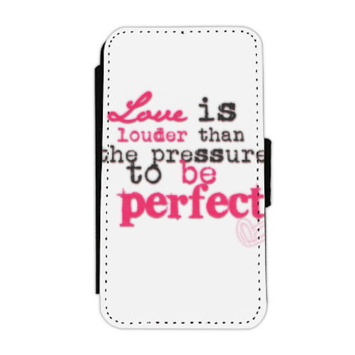 love is louder Flip cover laterale iphone 4-4s