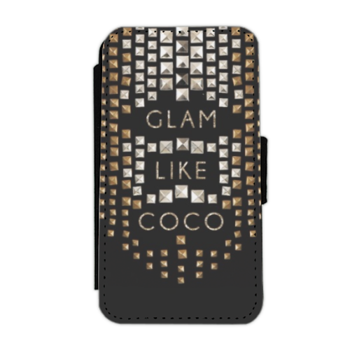 Glam Like Coco Flip cover laterale iphone 4-4s