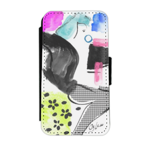 Glamour Flip cover laterale iphone 4-4s