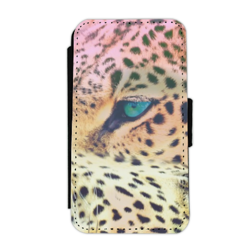 Leopard Flip cover laterale iphone 4-4s