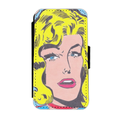 SUPERGIRL Flip cover laterale iphone 4-4s