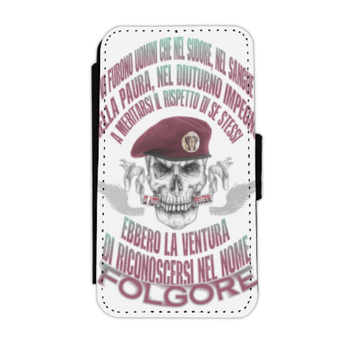 Come Folgore dal cielo Flip cover laterale iphone 4-4s
