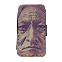 Sitting Bull Flip cover laterale iphone 5
