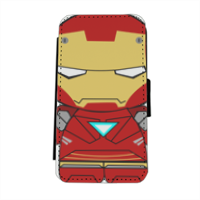 Team Ironman - Flip cover laterale iphone 5