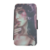 Oriental Woman Flip cover laterale iphone 5