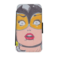 CATWOMAN 2016 Flip cover laterale iphone 5