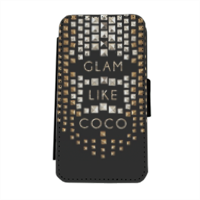 Glam Like Coco Flip cover laterale iphone 5