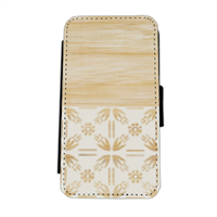 Bamboo and Japan Flip cover laterale iphone 5