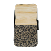 Bamboo Gothic Flip cover laterale iphone 5