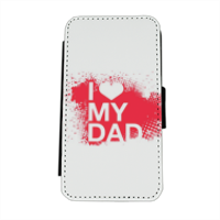 I Love My Dad - Flip cover laterale iphone 5