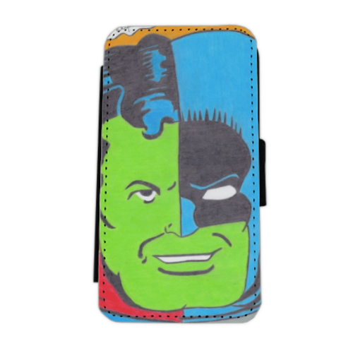 THE COMPOSITE SUPERMAN Flip cover laterale iphone 5